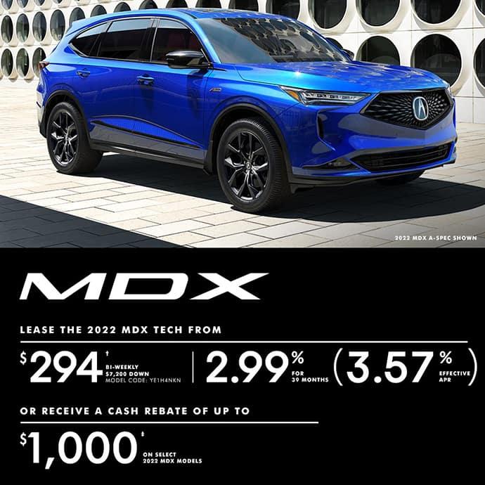 2022 Acura MDX Special