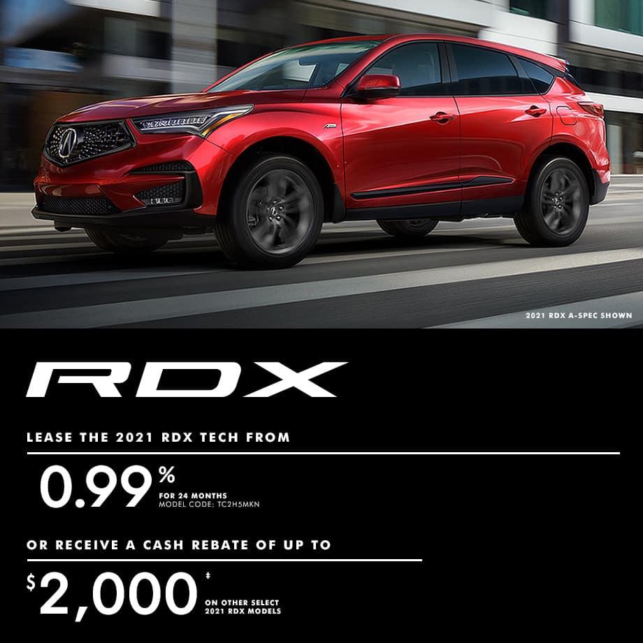 2021 Acura RDX Special