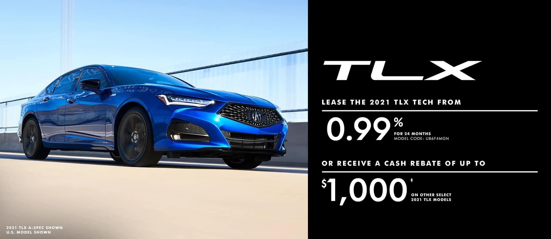 Acura TLX May offer desktop banner