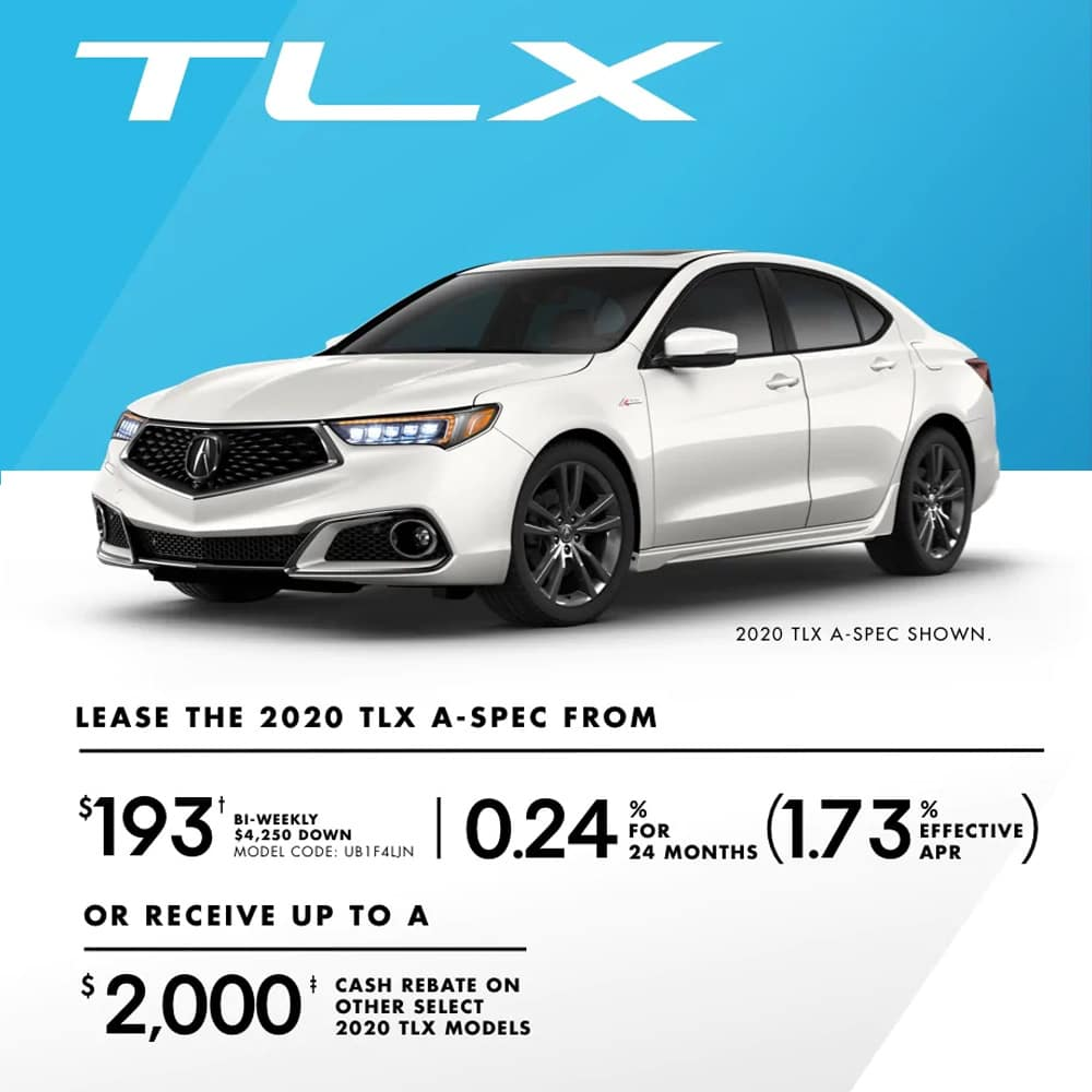 2020 Acura TLX Special
