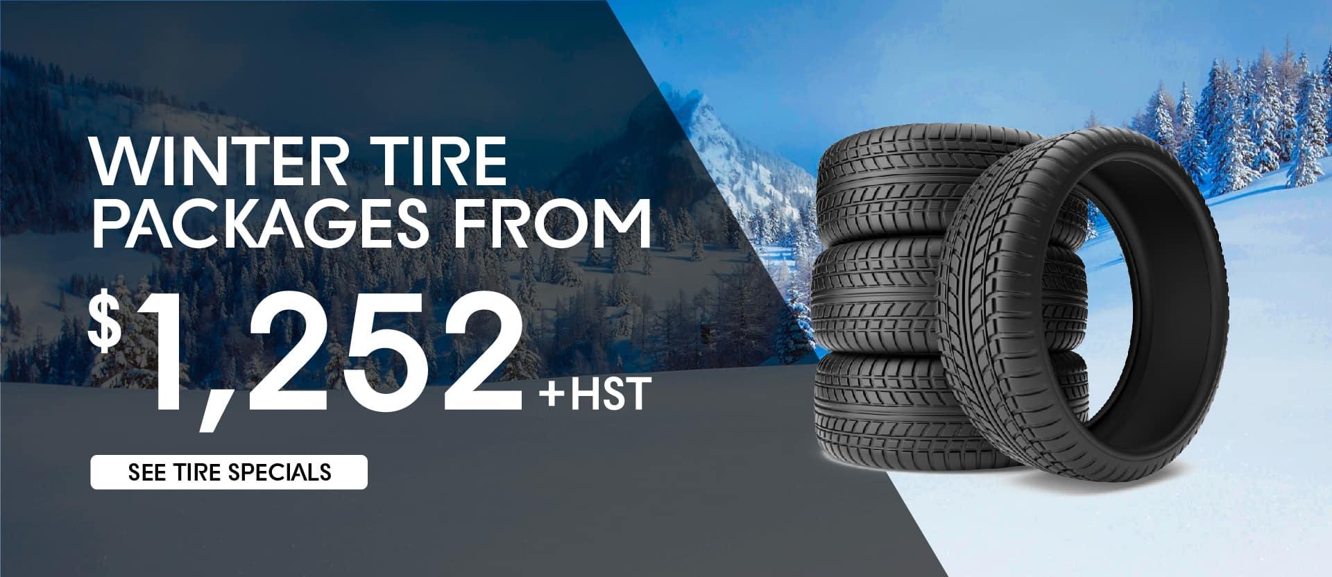 Winter Tire Specials banner