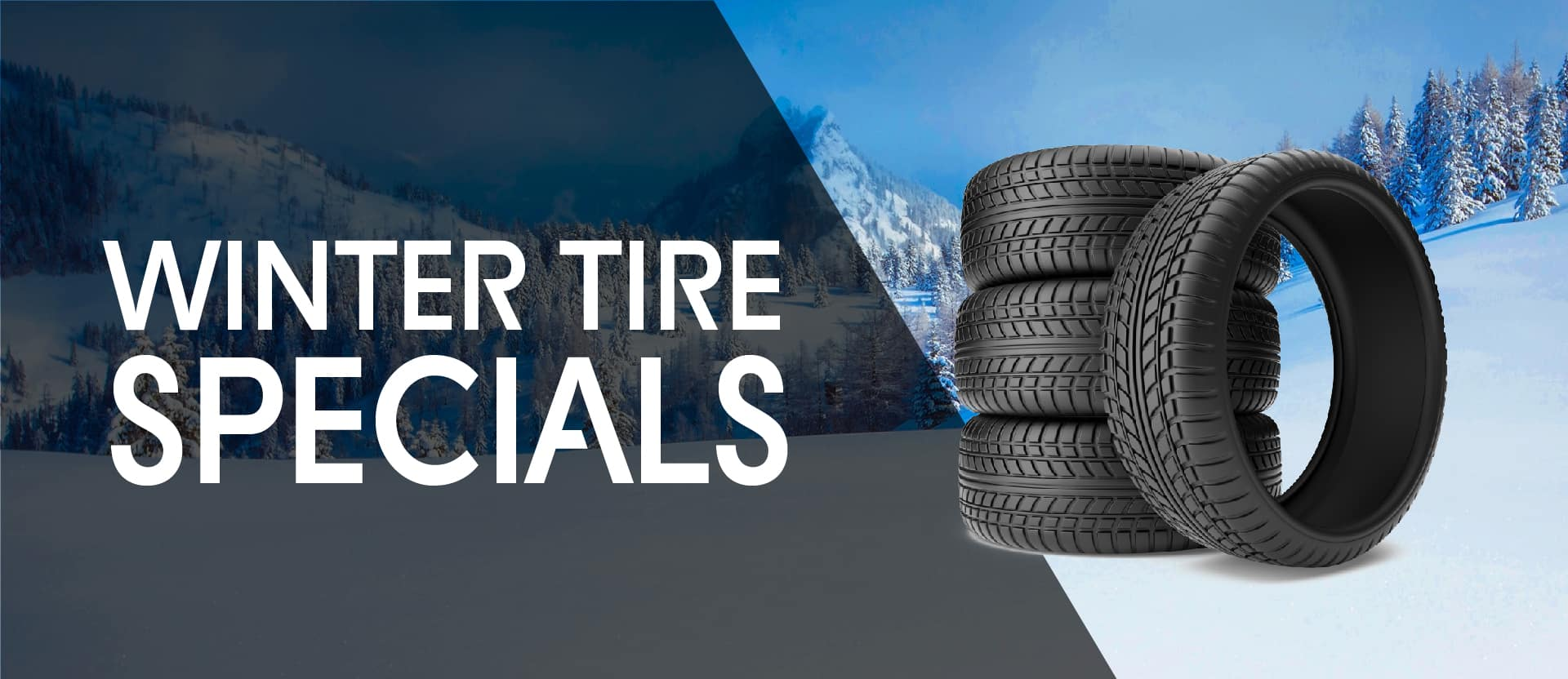 Winter Tire Specials Banner