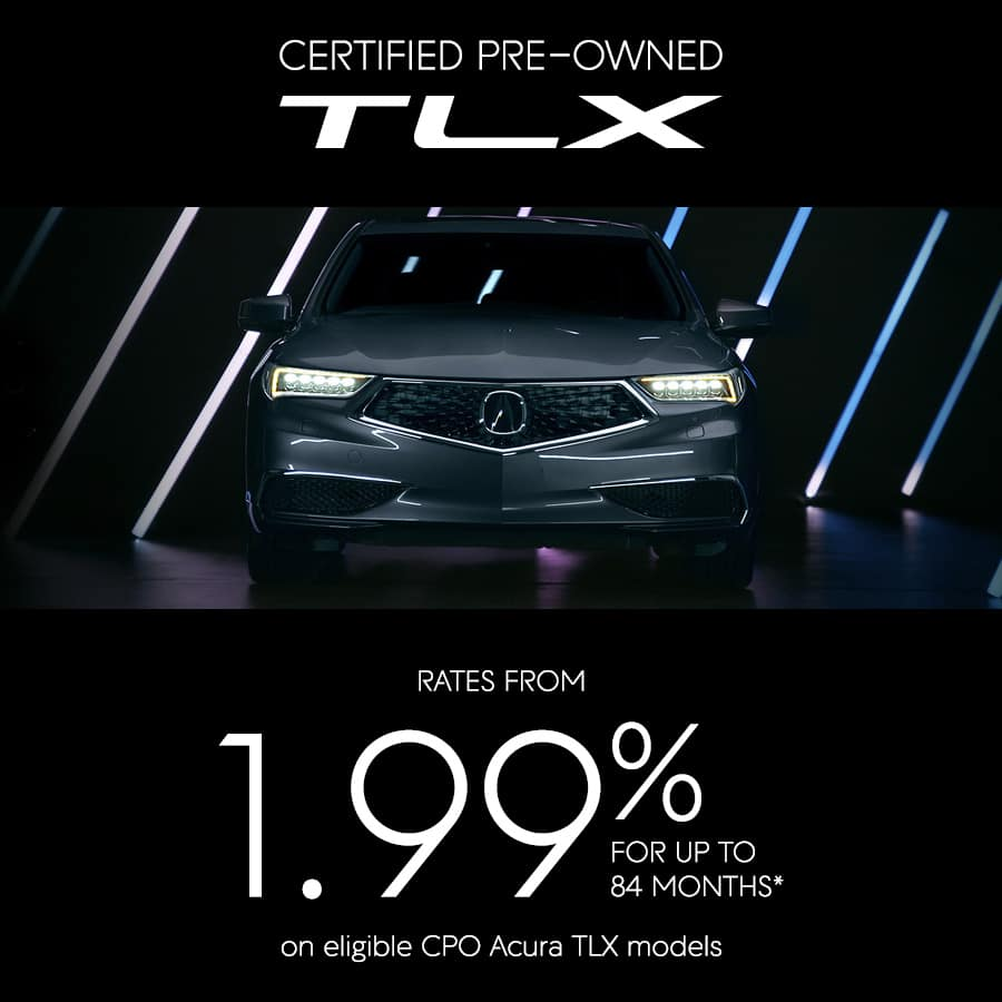 Certified Pre-owned TLX Special Offer