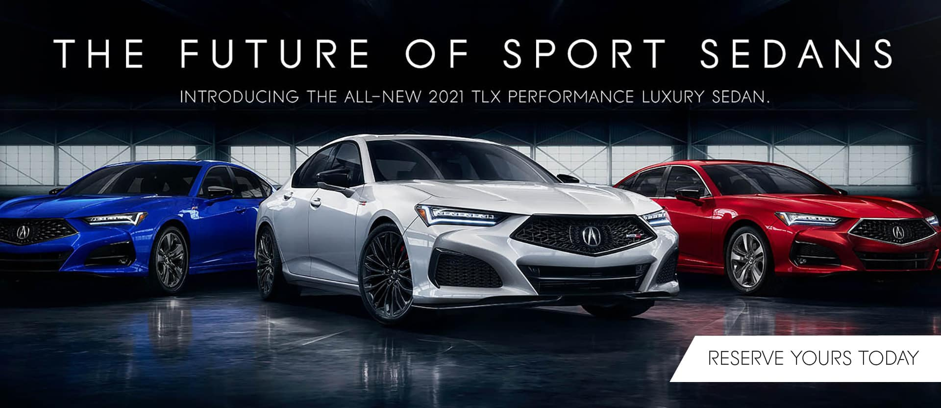 2021 TLX banner
