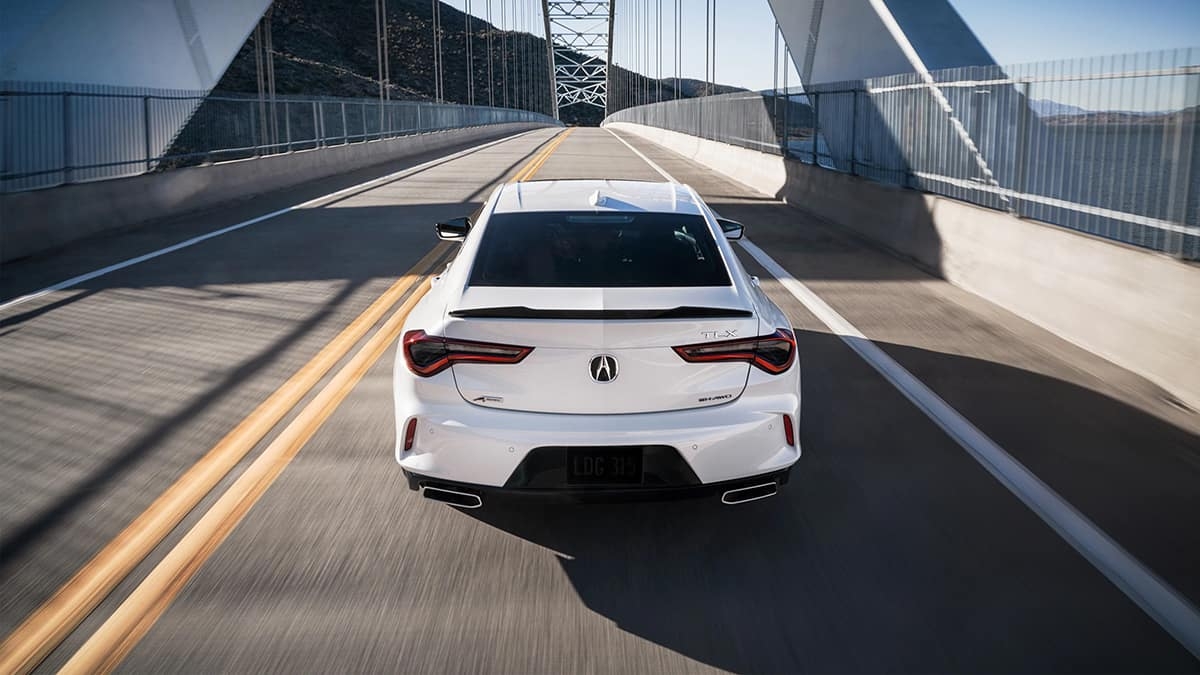 2021 TLX Power Stance