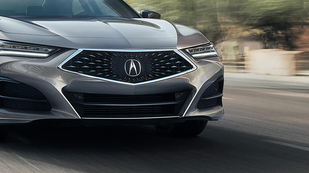 2021 TLX front