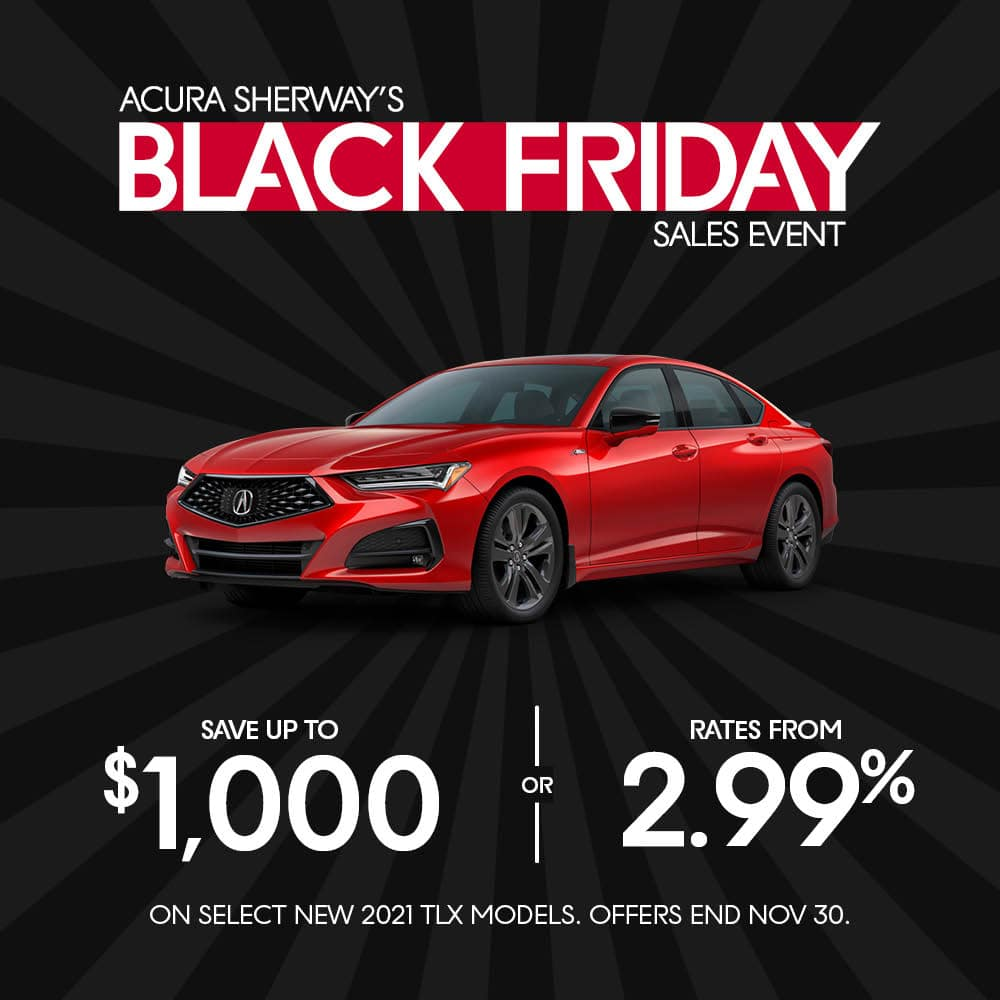 TLX Black Friday Sale