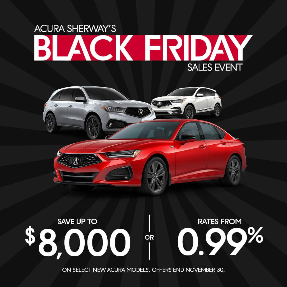 Black Friday Sales Event on Now