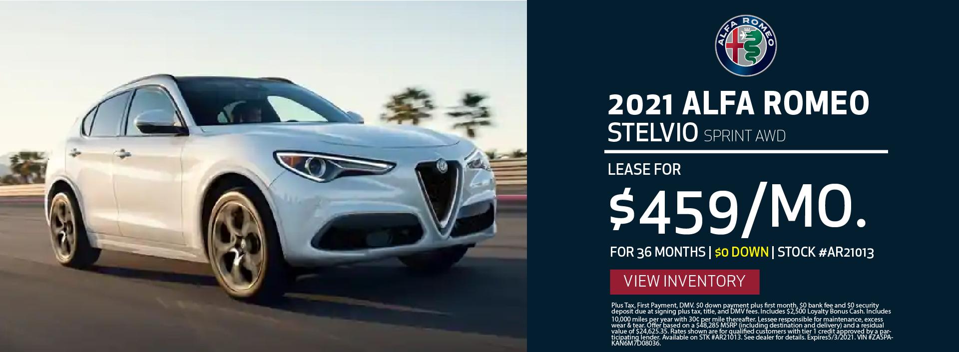 Manhattan Alfa Romeo – 2021 Stelvio Sprint