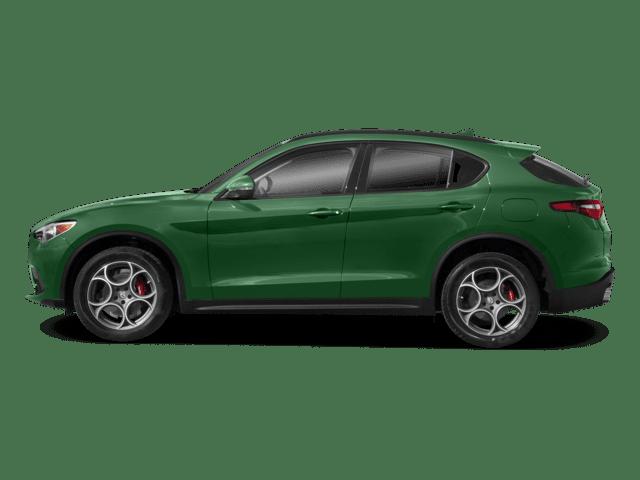 Stelvio green model