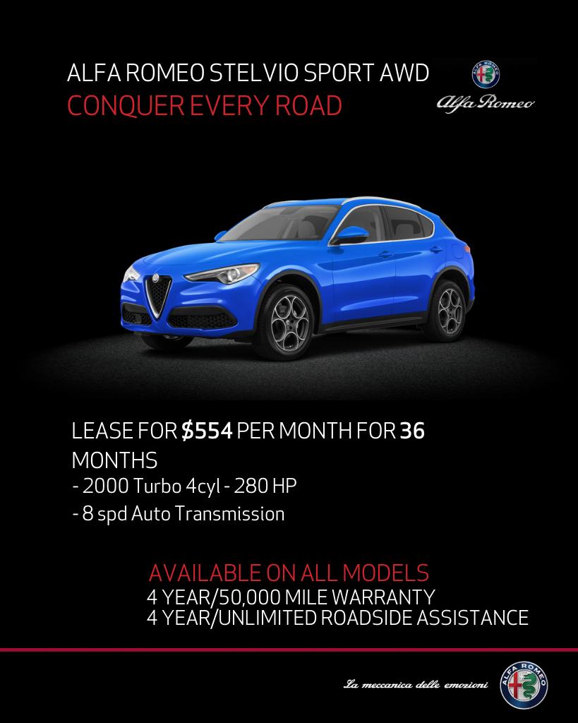 New 2020 Alfa Romeo Stelvio Sport AWD