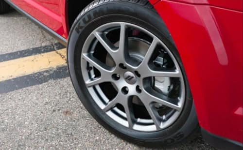 19-inch Satin Carbon wheel for 2018 Dodge Journey