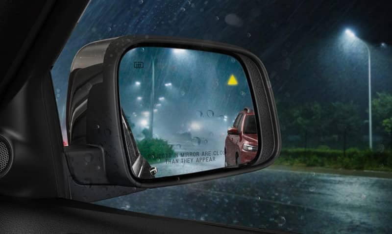 2019 Jeep Grand Cherokee blind spot mirror