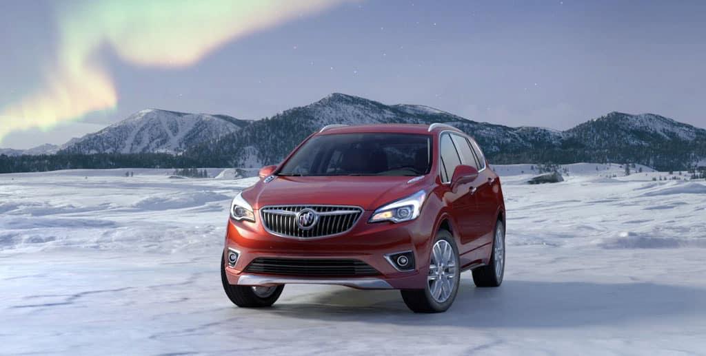 2020 Buick Envision polar setting