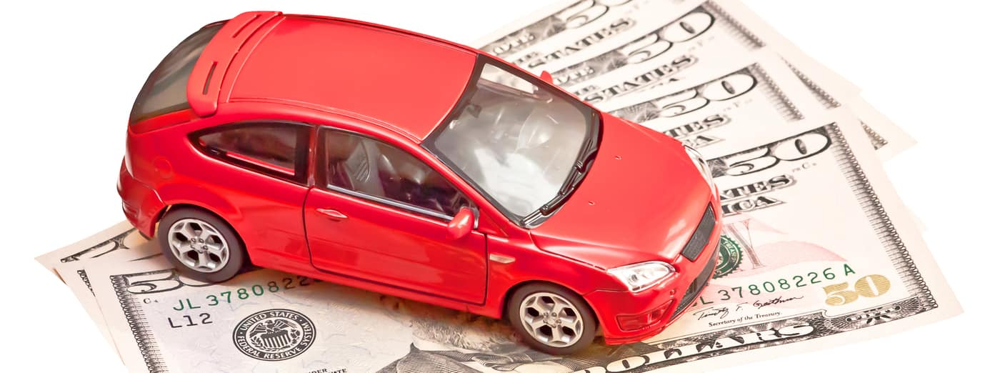toy car and money