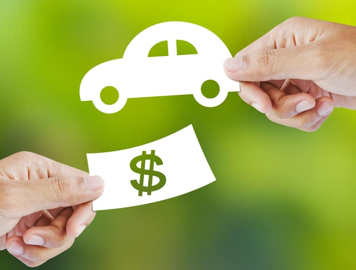 money exchange for car
