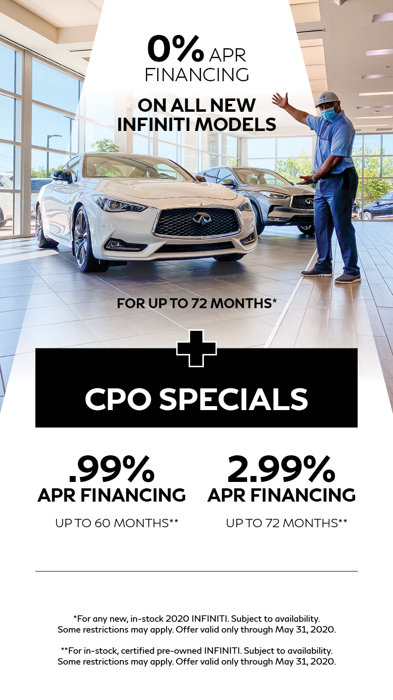 INFINITI QX60 May Lease Offer in Austin, TX