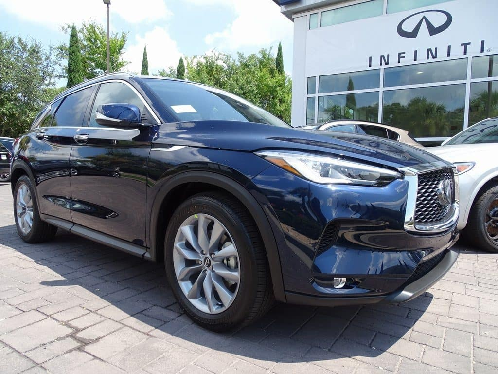 New 2019 QX50 LUXE AWD
