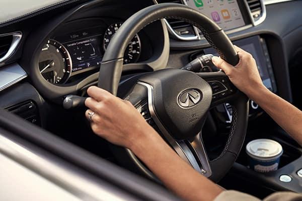 Test Drive QX50