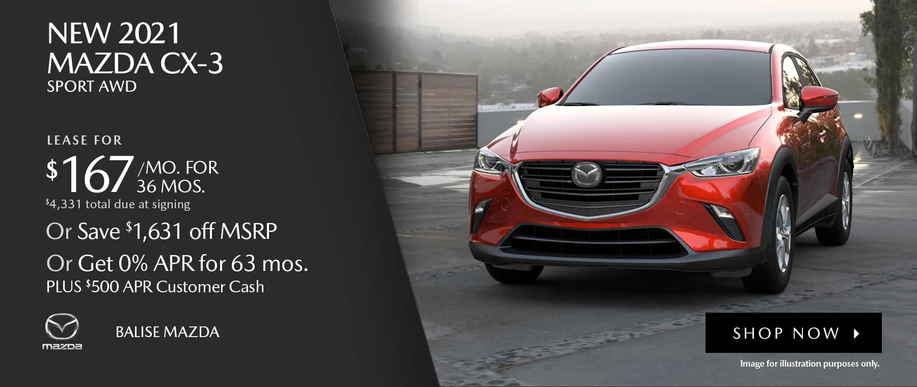 BMAZ-HomePageBanner-1800×760-New 2021 Mazda CX-3 Sport AWD_05'21