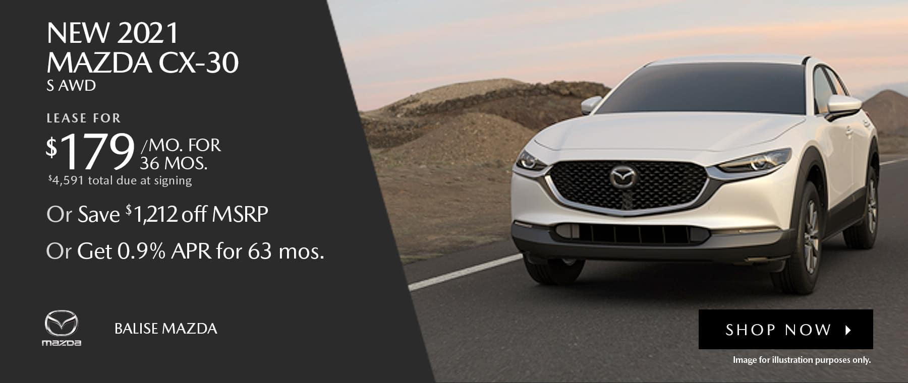 BMAZ-HomePageBanner-1800×760- New 2021 _Mazda CX-30 S AWD_1220