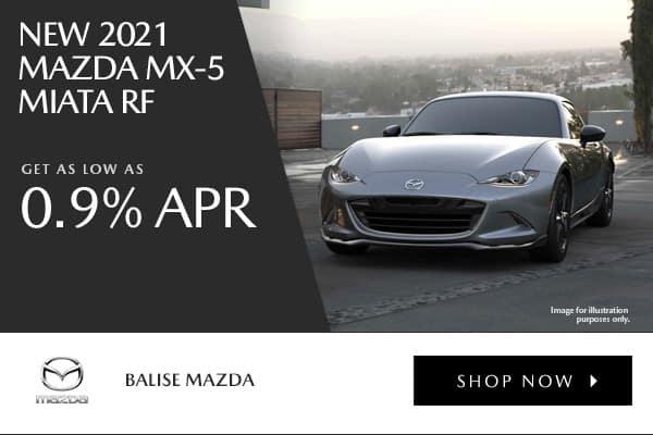 New 2021 Mazda MX-5 Miata RF