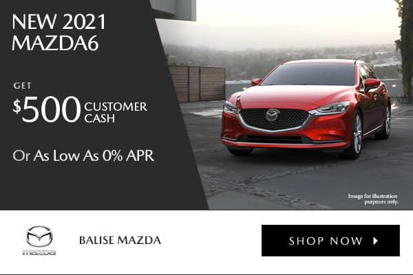 New 2021 Mazda6