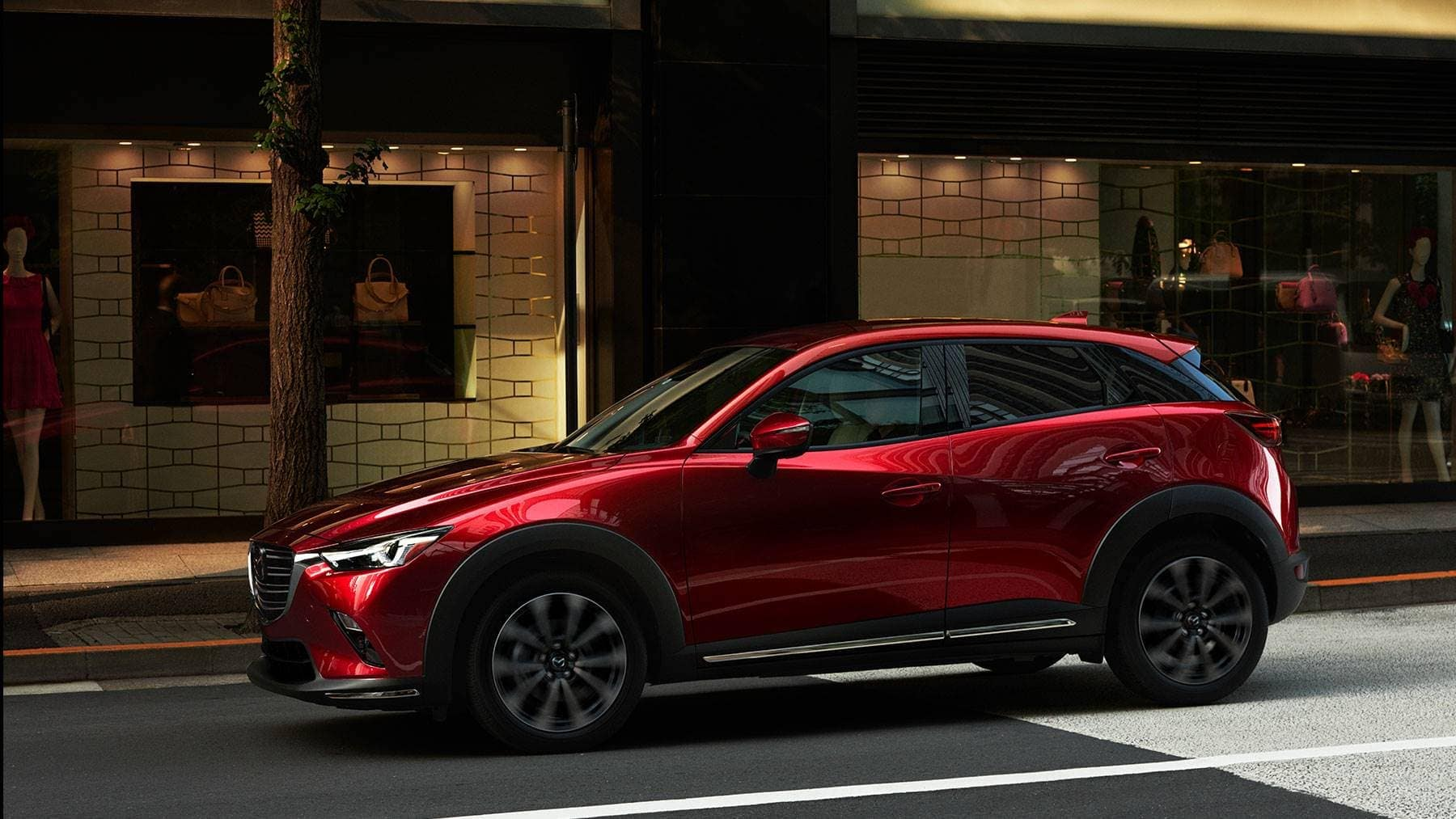 2019 Mazda CX-3 Parked on Street