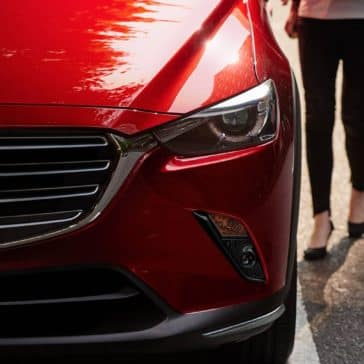 2019 Mazda CX-3 Closeup of Front End