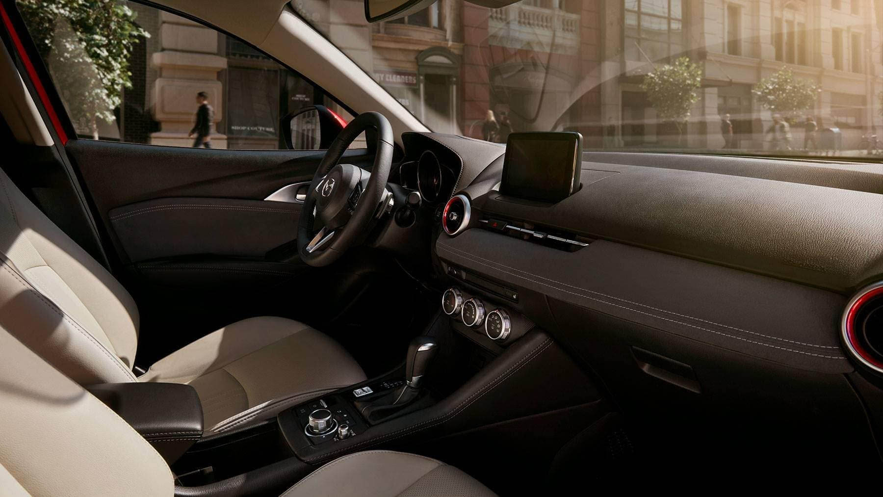 2019 Mazda CX-3 Interior Front Seating and Dashboard