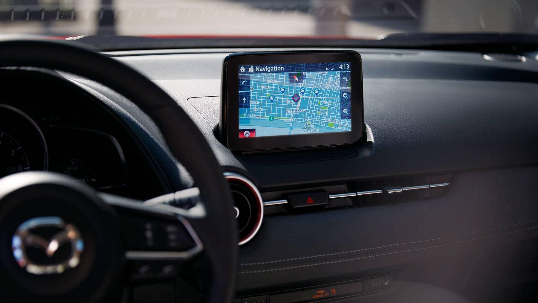 2019 Mazda CX-3 Dashboard Technology Features