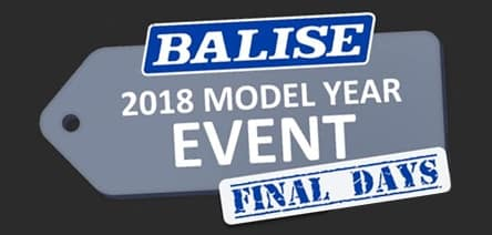 2018 Model Year Event Final Days
