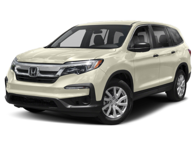 2019 Honda Pilot in white
