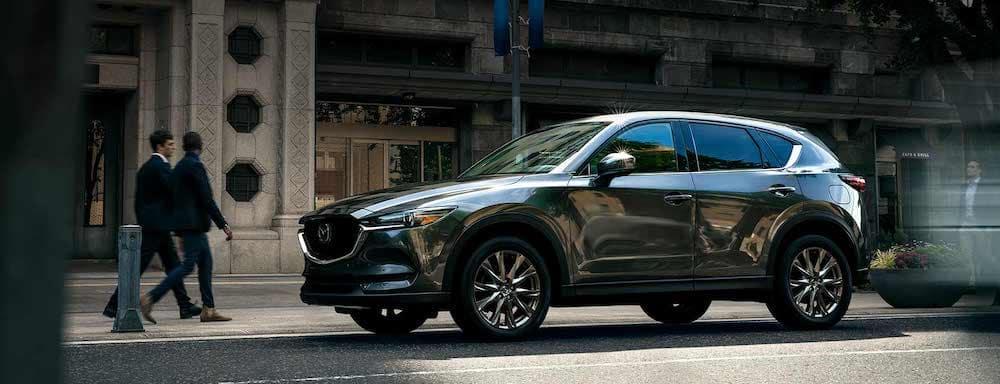 2019 Mazda CX-5 Signature edition in the city