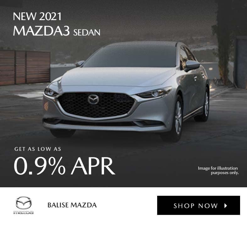New 2021 Mazda3 Sedan