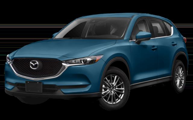 2019 Mazda CX-5 in blue green