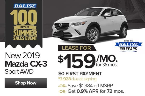 New Mazda Cx 3 In West Springfield Balise Mazda