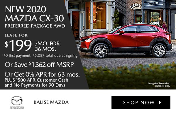 New 2020 Mazda CX-30 Preferred Pkg AWD