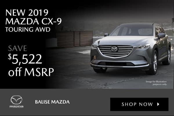 New 2019 Mazda CX-9 Touring AWD