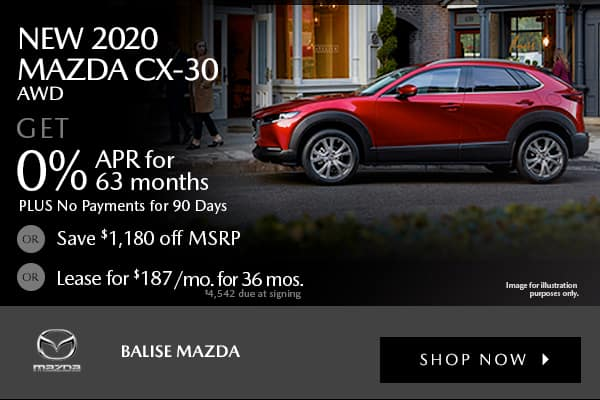New 2020 Mazda CX-30 AWD