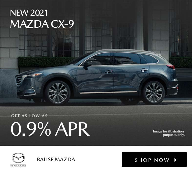 New 2021 Mazda CX-9