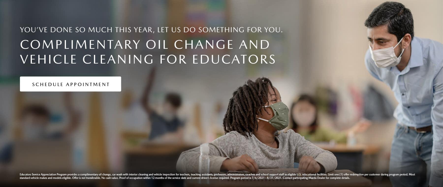 Educators Service Appreciation Program
