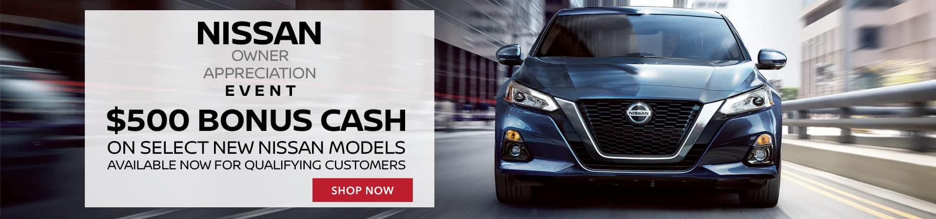Nissan Owner Appreciation Event
