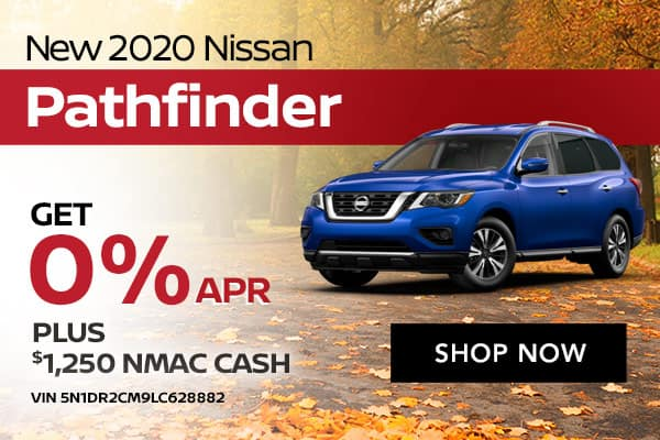 New 2020 Nissan Pathfinder