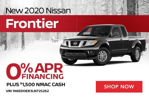 New 2020 Nissan Frontier