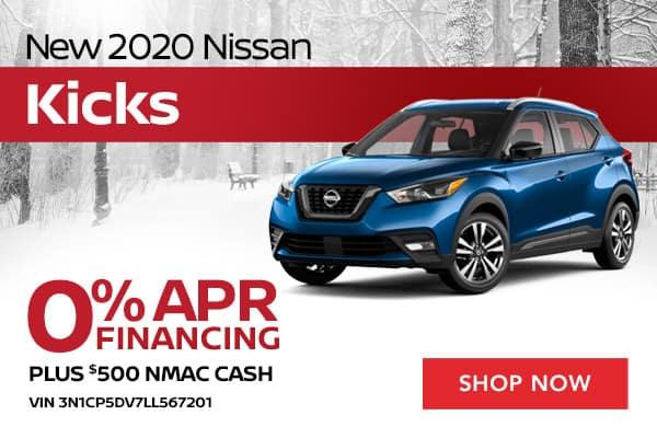 New 2020 Nissan Kicks