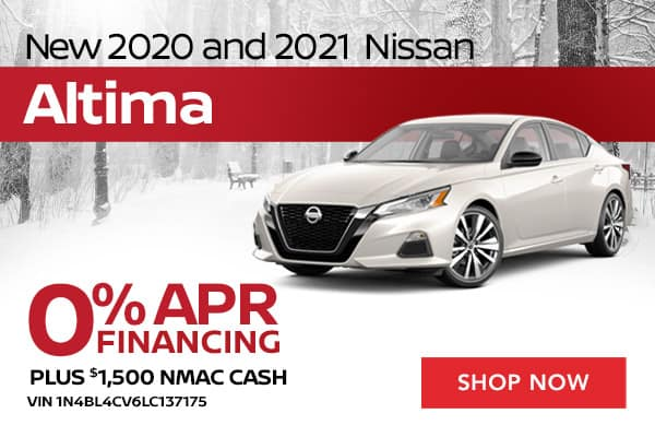 New 2020 and 2021 Nissan Altima