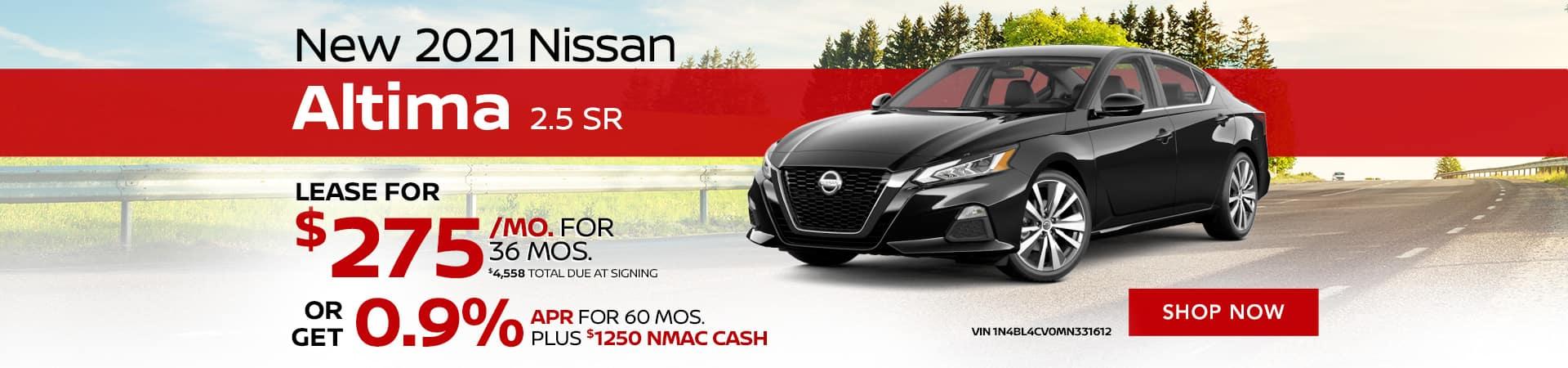 JRN_1920x450_New 2021 Nissan Altima 2.5 SR __06'21