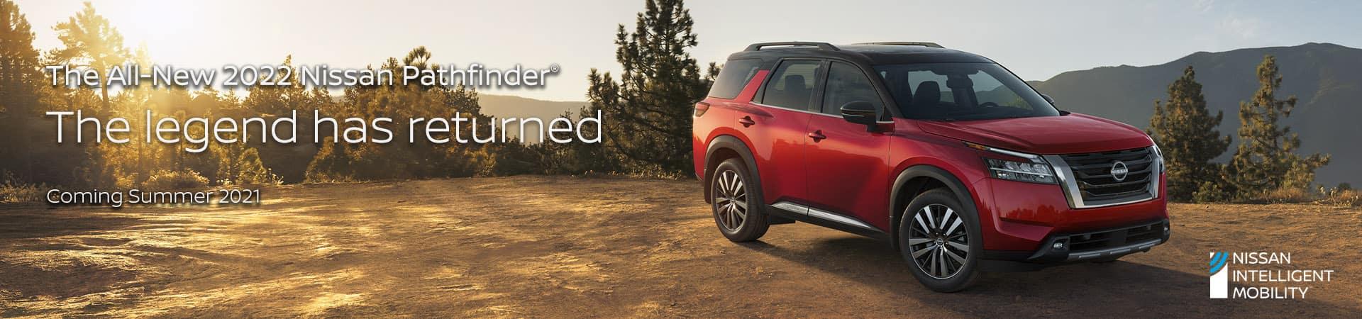 All-New 2022 Nissan Pathfinder