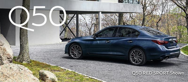 2021 INFINITI Q50 3.0T LUXE AWD